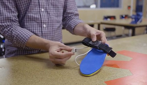insole for shoes that generates energy