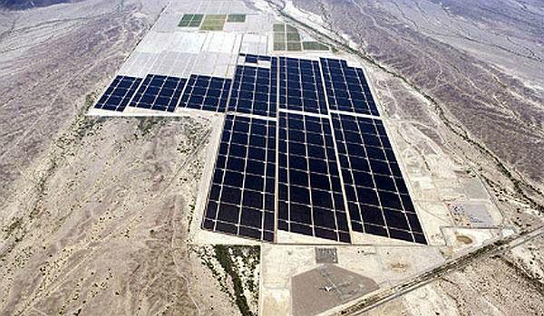 Agua Caliente Solar Photovoltaic Facility, Arizona