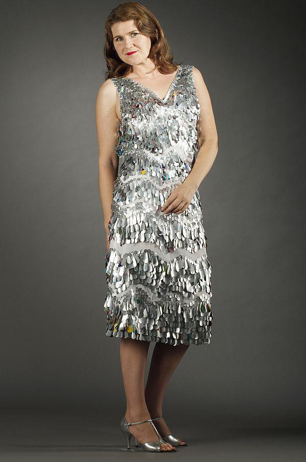 Aluminum cans dress