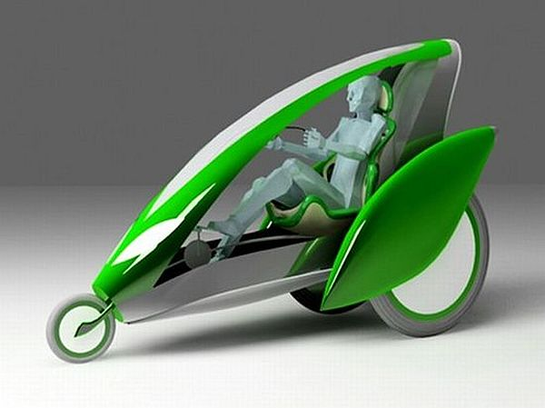 Eco vehicle tricycle