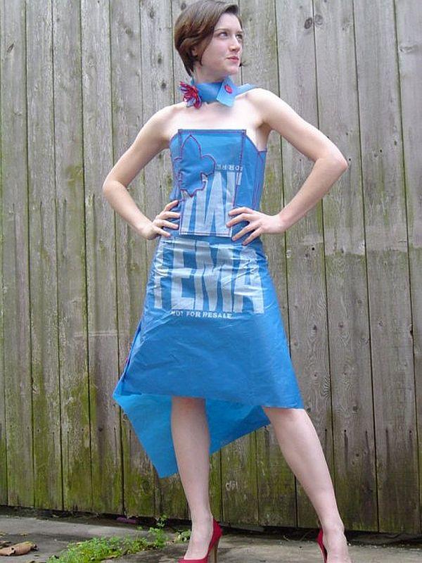 FEMA blue tarp skirt