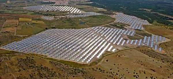 Moura photovoltaic power station in Portugal