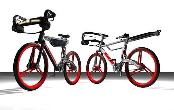 Wind-Solar Bike