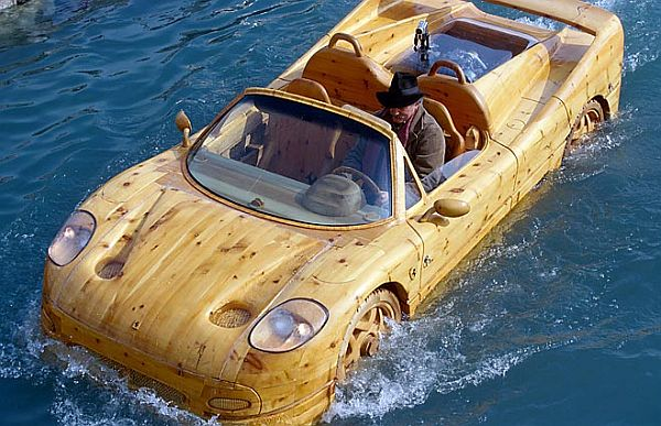 Ferrari F50 in Wood