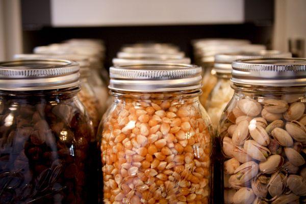 Mason Kitchen jars