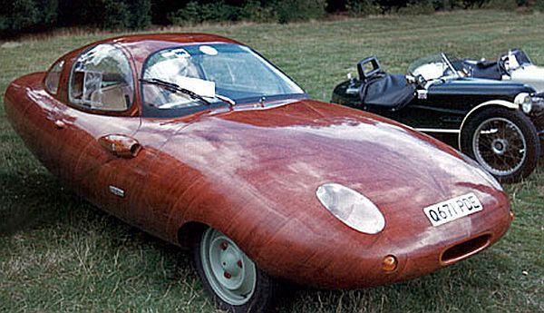 The Wooden Three-wheeled Car