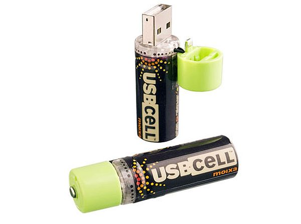 USB cell batteries