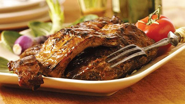 lip smacking grilled meat