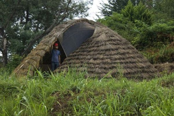 Bamboo dome shelter 1