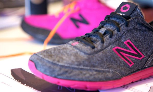 New Balance shoes made using PET bottles 2