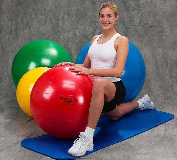 Theraband exercise balls