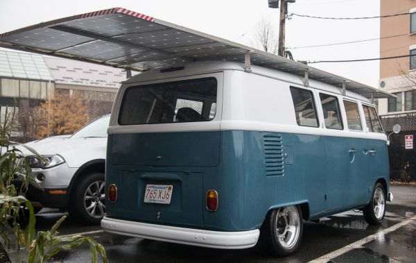 solar powered VW bus 2