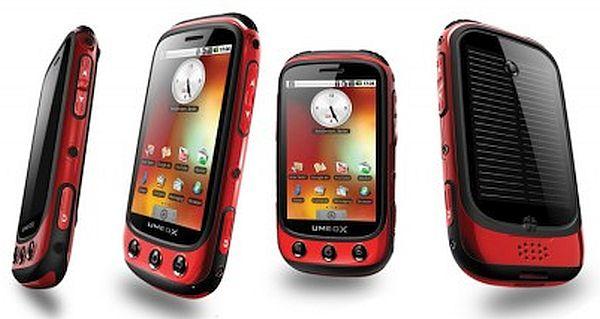 Umeox's Apollo solar powered Android