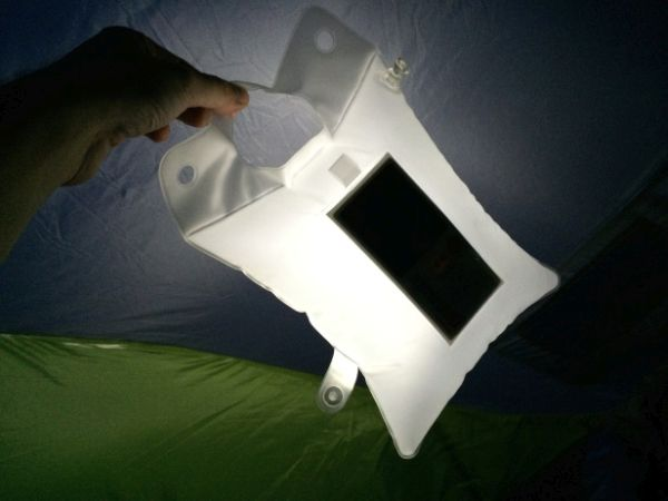 LuminAID Inflatable Solar Powered Light  2