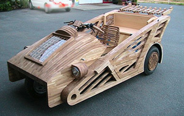 Maniwa, Japanese Wooden Supercar