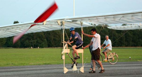 Pedal Powered Aircraft