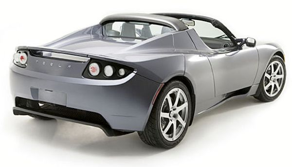 The Tesla Roadster  1