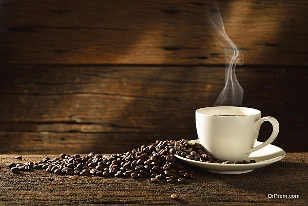 locally grown coffee
