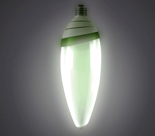 Algae Powered LED Bulb