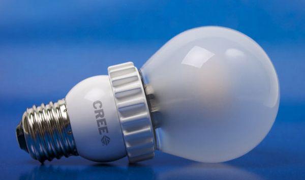 Cree energy efficient bulbs