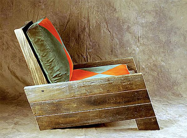 Recycled wood furniture