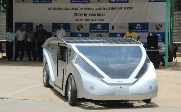 Solar Electric Road Vehicle