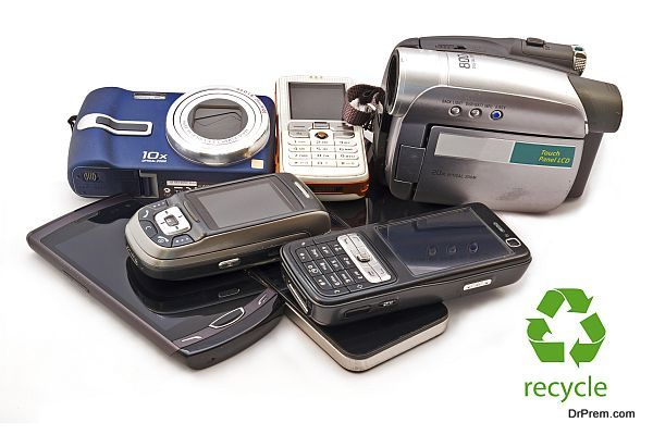 Old Mobile Phones,Camera and Camcorders