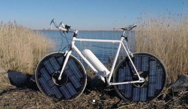 Danish solar powered e-bike  (1)