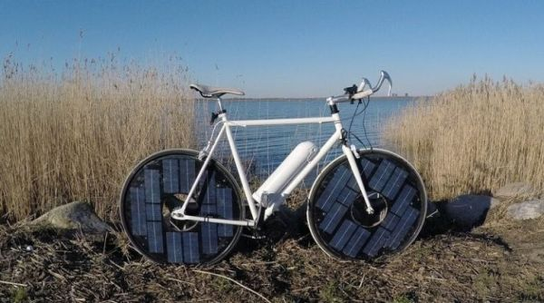 Danish solar powered e-bike  (2)