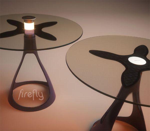Firefly Solar Lamp Table