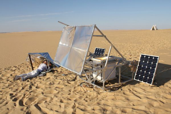 Solar-powered 3D printers 3