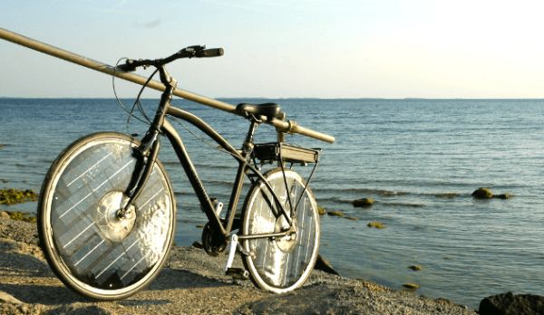 solar powered e-bike