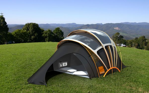 Chill n Charge Tent