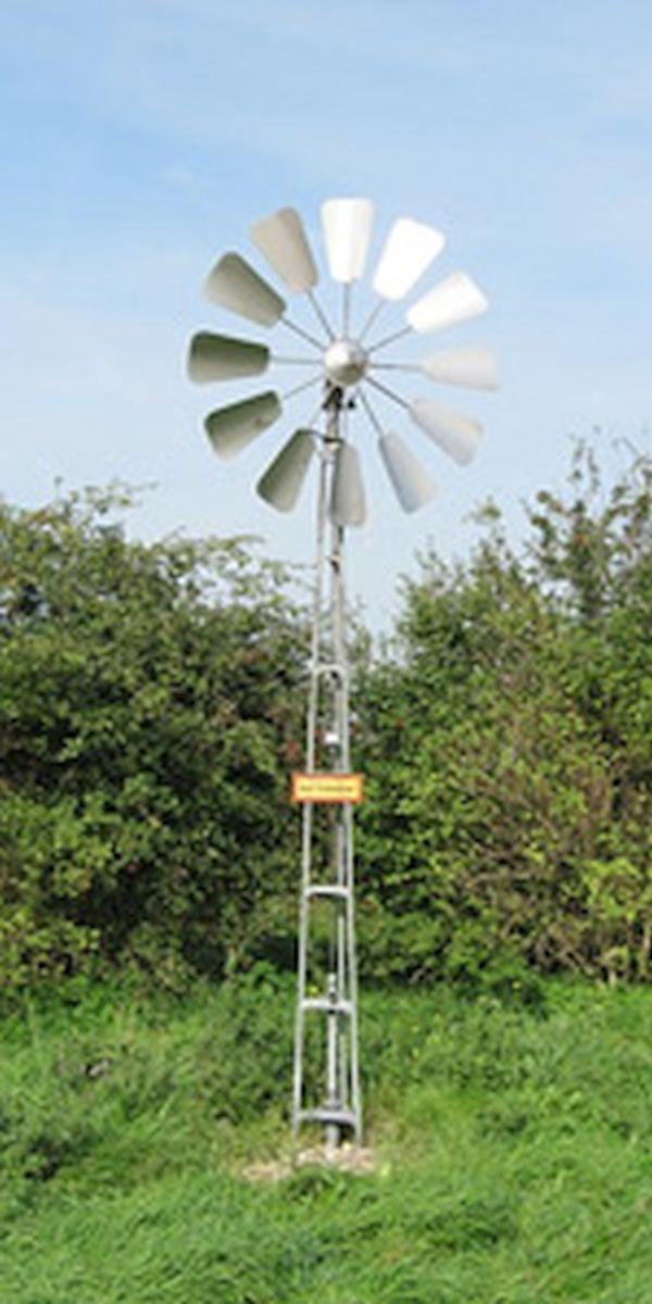 DIY wind powered water pump 2