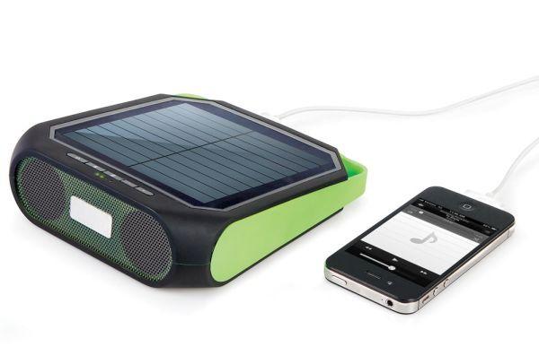 Portable Solar Powered Speaker