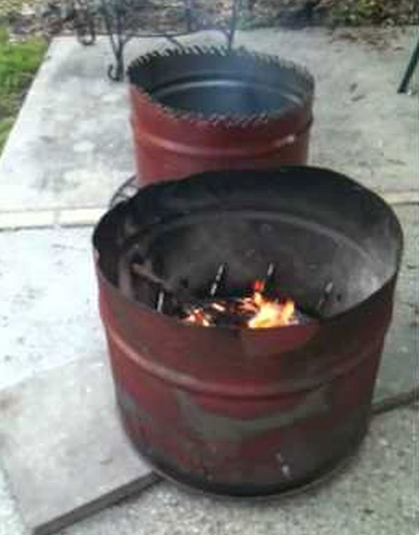 Repurposing Old Items To Create A Killer Diy Fire Pit