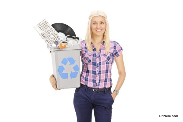 recycle electronic items