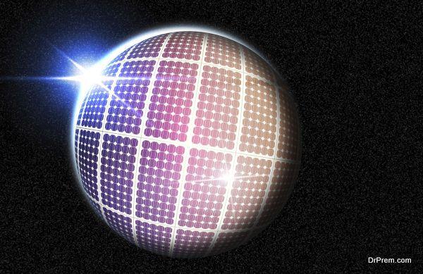 Solar Panel Globe