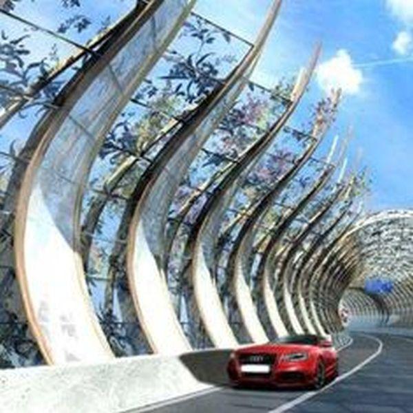 Solar powered traffic noise blockers  (1)
