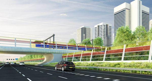 Solar powered traffic noise blockers  (3)