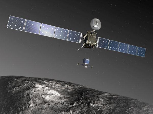 Rosetta's journey
