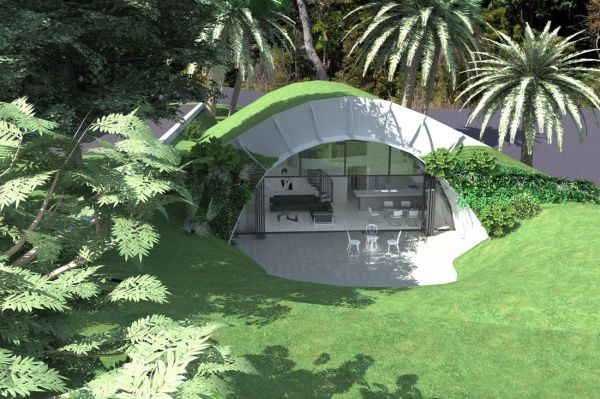 Here s why earth sheltered homes are awesome for Earth shelters designs