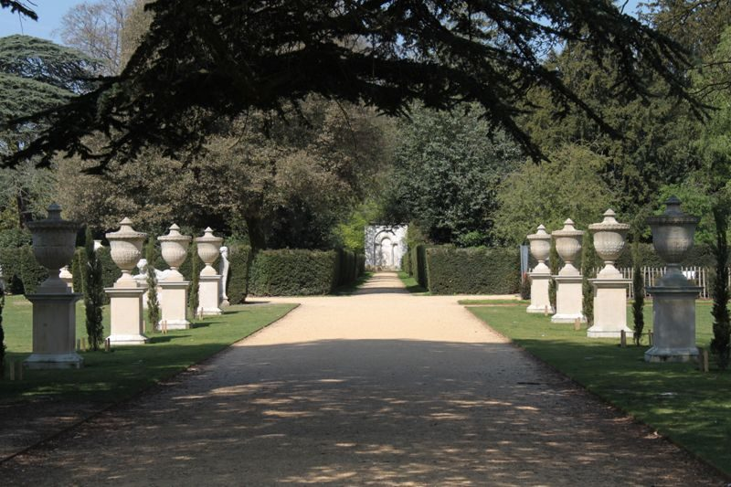 Chiswick house garden by William Kent