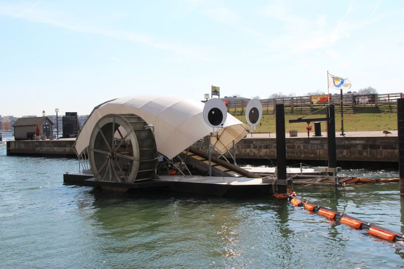 Mr. Trash Wheel, USA