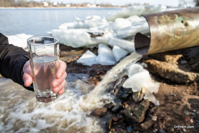 Ammonia-contaminated-water
