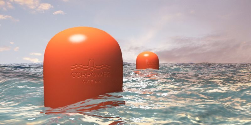 Corpower's wave to electrical energy converter