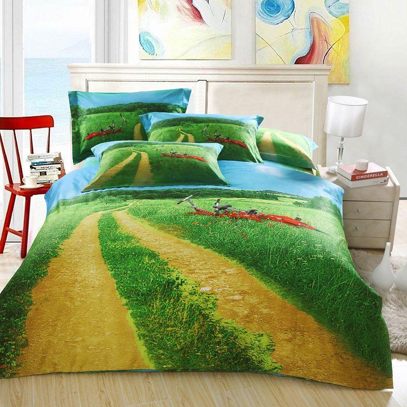 green beddings