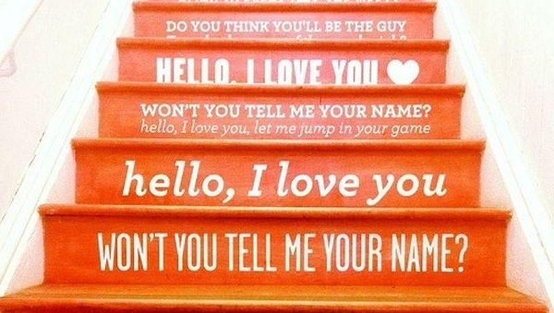 stairs naming