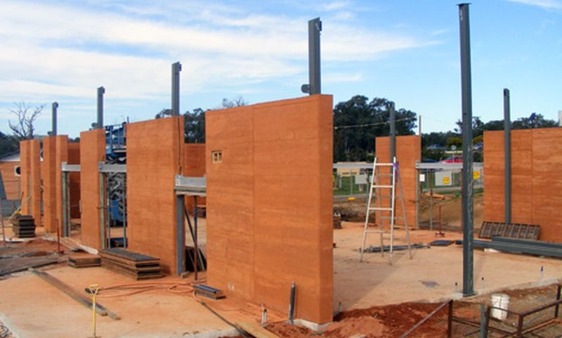 Is An Eco Friendly Houses Made From Rammed Earth Feasible