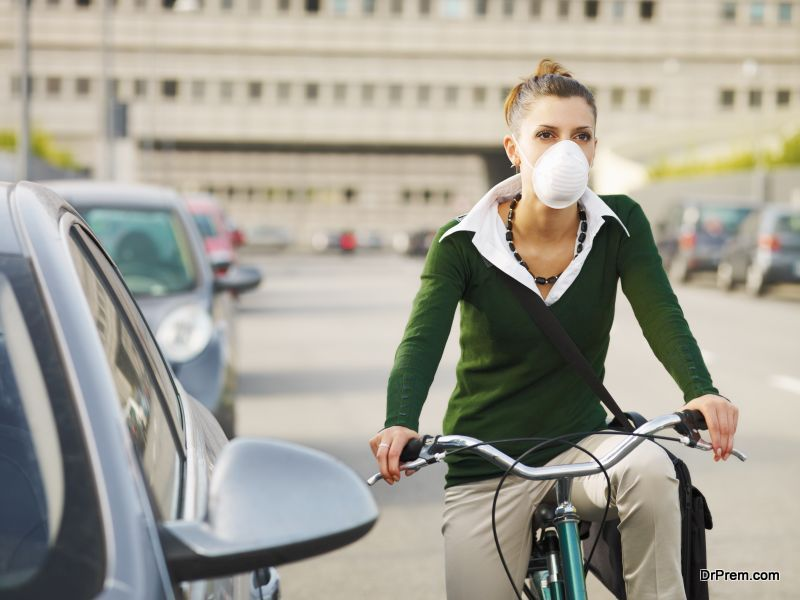 anti-pollution cycling mask